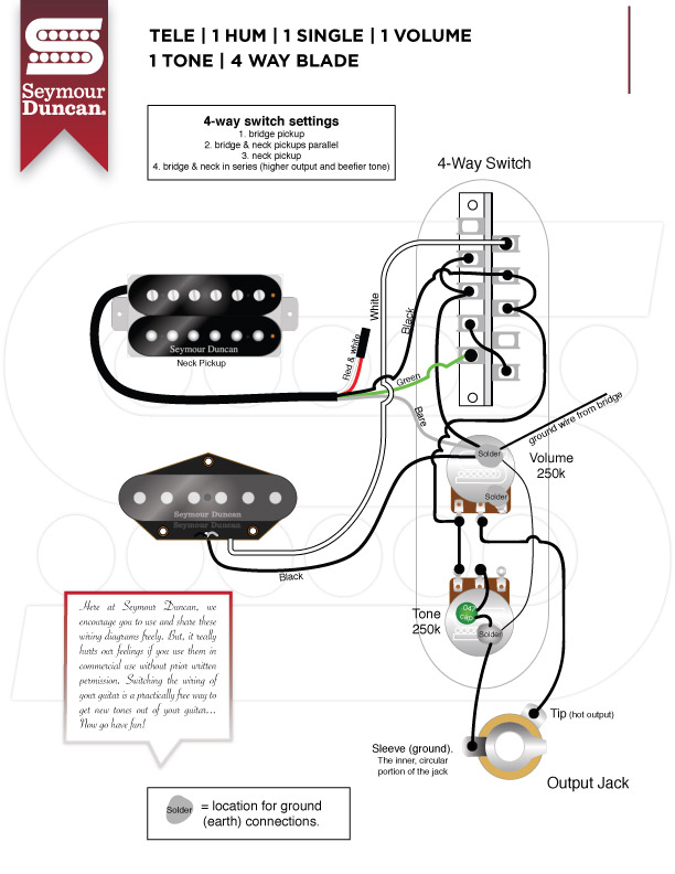 Seymour Duncan Pearly Gates Wiring Diagram - Free Download Wiring ...