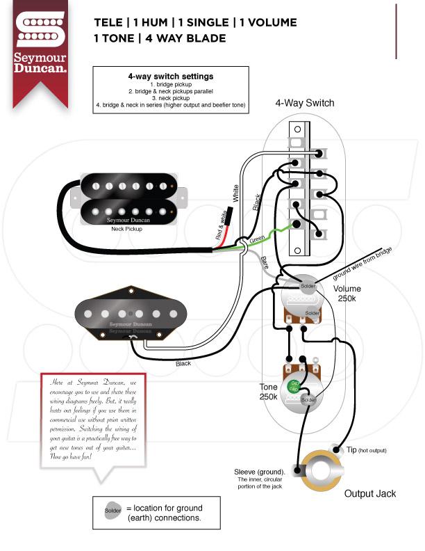 Seymour Duncan Pearly Gates Wiring Diagram - Free Download Wiring ...